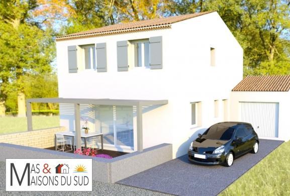 Maison+Terrain à vendre .(80 m²)(SAUVETERRE) avec (MAS MAISONS SUD)