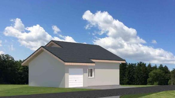 Maison+Terrain à vendre .(100 m²)(PUGNY CHATENOD) avec (VILLAS AXIOME)
