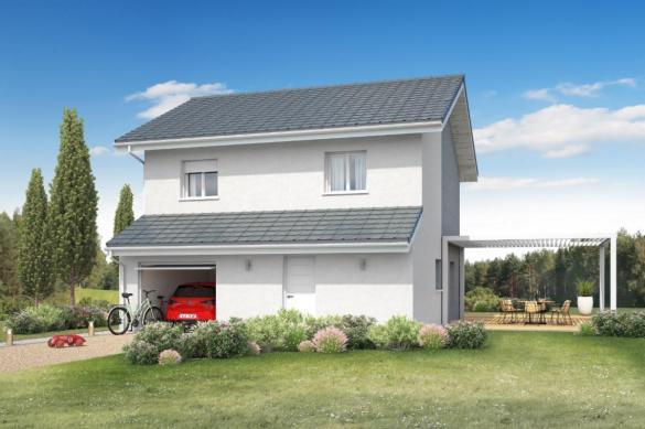 Maison+Terrain à vendre .(90 m²)(LES MOLLETTES) avec (MAISONS INSPIRE)