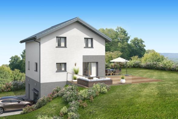 Maison+Terrain à vendre .(100 m²)(AILLON LE JEUNE) avec (MAISONS INSPIRE)
