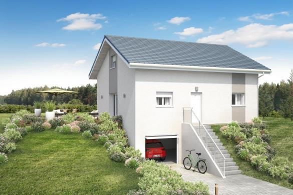 Maison+Terrain à vendre .(VILLY LE BOUVERET) avec (MAISONS INSPIRE)