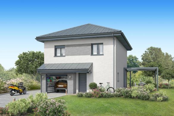Maison+Terrain à vendre .(90 m²)(CHAMBERY) avec (MAISONS INSPIRE)
