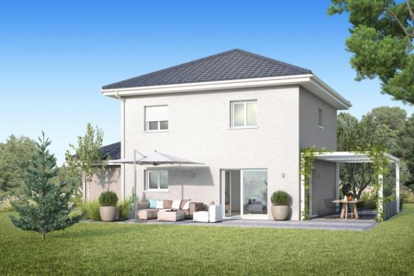Maison+Terrain à vendre .(90 m²)(MESIGNY) avec (MAISONS INSPIRE)