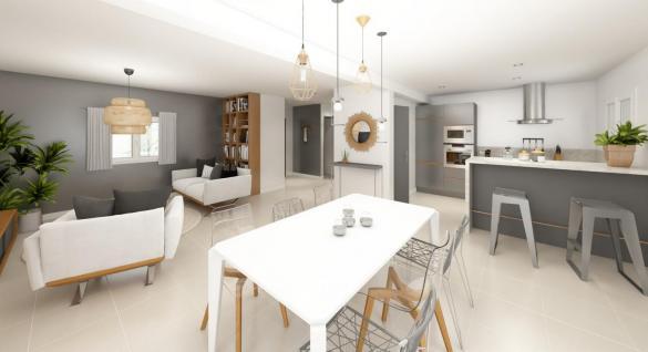 Maison+Terrain à vendre .(105 m²)(CHINDRIEUX) avec (MAISONS INSPIRE)