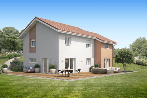 Maison+Terrain à vendre .(100 m²)(SERRIERES EN CHAUTAGNE) avec (MAISONS INSPIRE)