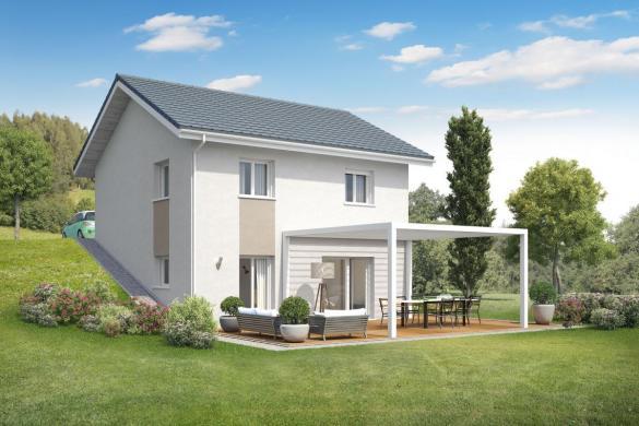 Maison+Terrain à vendre .(91 m²)(SERRIERES EN CHAUTAGNE) avec (MAISONS INSPIRE)
