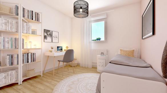 Maison à vendre .(90 m²)(SAINT GEORGES SUR MOULON) avec (Maisons Hexagone BOURGES)