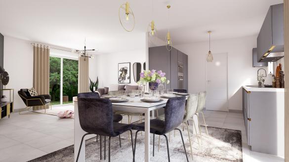 Maison à vendre .(105 m²)(MEREAU) avec (Maisons Hexagone BOURGES)