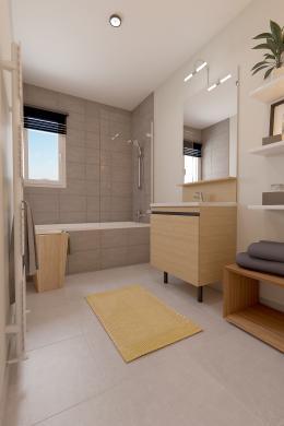 Maison à vendre .(80 m²)(POILLY LEZ GIEN) avec (Maisons Hexagone GIEN)
