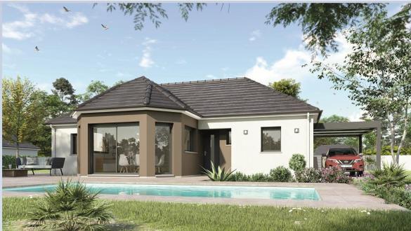 Maison à vendre .(80 m²)(ROMORANTIN LANTHENAY) avec (Maisons Hexagone ORLEANS)