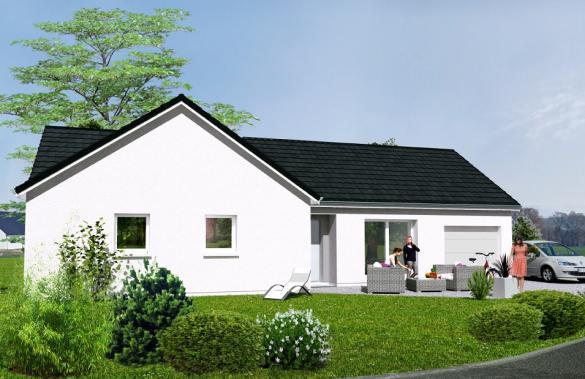 Maison à vendre .(80 m²)(VOUZON) avec (Maisons Hexagone ORLEANS)
