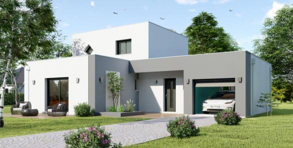Maison à vendre .(105 m²)(SANDILLON) avec (Maisons Hexagone ORLEANS)