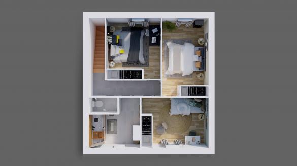 Maison à vendre .(115 m²)(ARDON) avec (Maisons Hexagone ORLEANS)