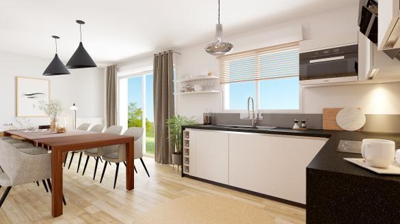 Maison à vendre .(115 m²)(CEPOY) avec (Maisons Hexagone ORLEANS)