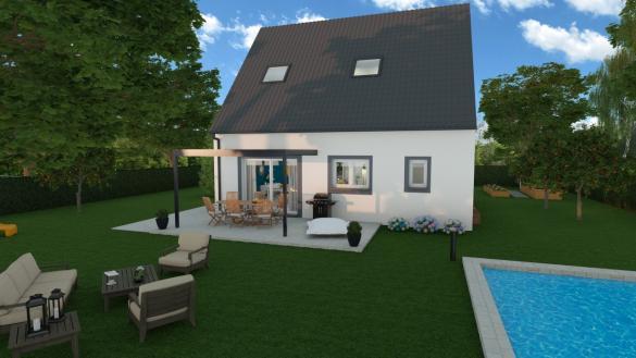 Maison à vendre .(107 m²)(VERT SAINT DENIS) avec (AGENCE LOGELIS LA ROCHETTE)