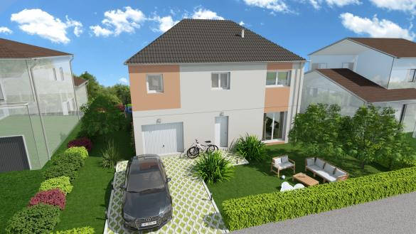 Maison à vendre .(118 m²)(MONTEREAU FAULT YONNE) avec (AGENCE LOGELIS LA ROCHETTE)