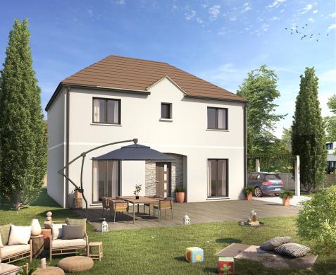 Maison+Terrain à vendre .(125 m²)(ROZAY EN BRIE) avec (Maisons SESAME)