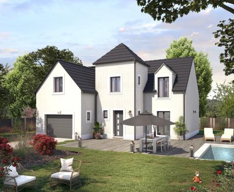 Terrain à vendre .(561 m²)(ROZAY EN BRIE) avec (Maisons SESAME)