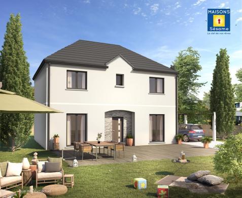 Maison+Terrain à vendre .(130 m²)(NANTEUIL LES MEAUX) avec (Maisons SESAME)