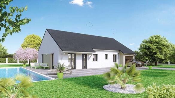 Maison à vendre .(90 m²)(LIGNY LE RIBAULT) avec (Créa Concept Orléans)