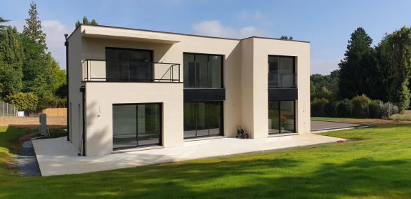 Terrain à vendre .(496 m²)(LONGNES) avec (ARCHIVIM CORMEILLES EN PARISIS)
