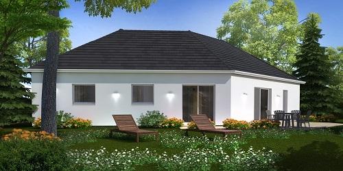 Maison+Terrain à vendre .(106 m²)(PAVILLY) avec (HABITAT CONCEPT)