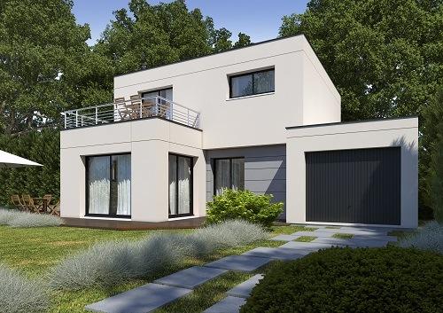 Maison+Terrain à vendre .(124 m²)(BOSC GUERARD SAINT ADRIEN) avec (HABITAT CONCEPT)