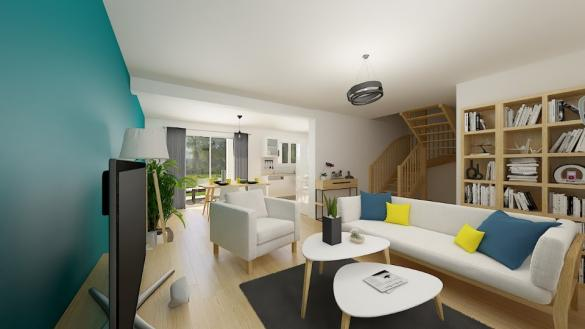 Maison+Terrain à vendre .(95 m²)(CLUSES) avec (MAISONS FRANCE CONFORT)